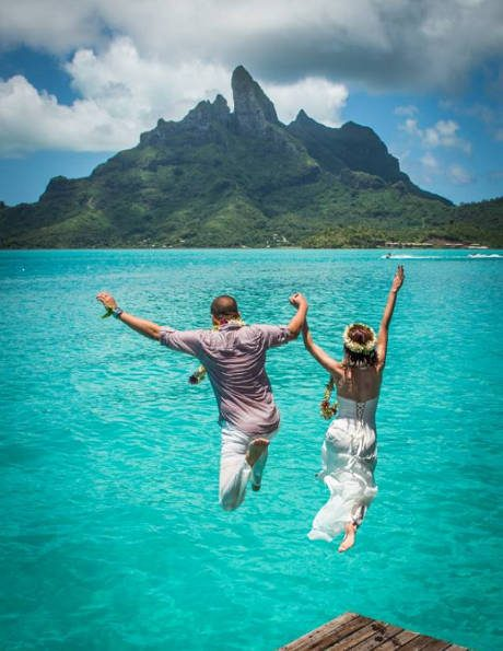 Romantic Ideas And Tahitian Weddings In Bora Bora By The
