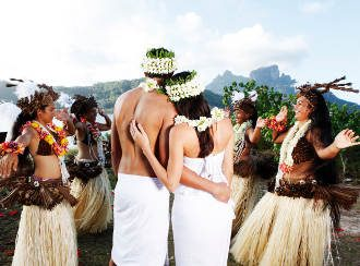 your wedding ceremony in bora bora, tahiti